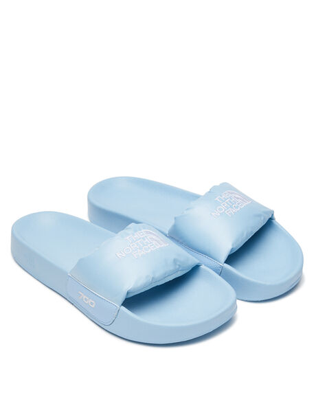 ANGEL FALLS BLUE WOMENS FOOTWEAR THE NORTH FACE SLIDES - NF0A46CGMA7