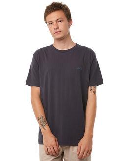 INK BLACK MENS CLOTHING BARNEY COOLS TEES - 118-CR1IBLK