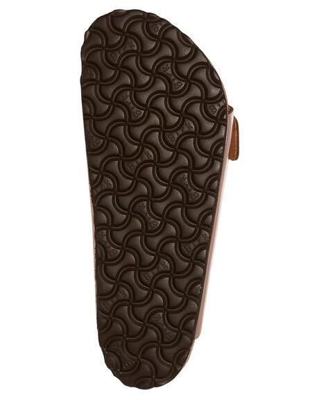 METALLIC COPPER WOMENS FOOTWEAR BIRKENSTOCK FASHION SANDALS - 752721MCPR