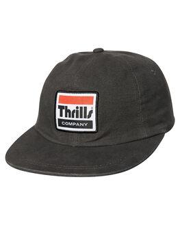 VINTAGE BLACK MENS ACCESSORIES THRILLS HEADWEAR - TH8-507BVBLK