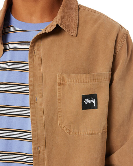 PIGMENT TANNIN MENS CLOTHING STUSSY JACKETS - ST001501PGTN