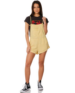 HONEY GOLD WOMENS CLOTHING BILLABONG PLAYSUITS + OVERALLS - 6572501HON
