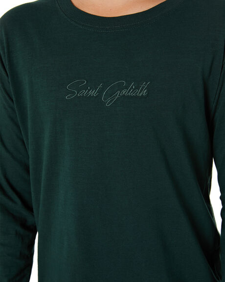 GREEN KIDS BOYS ST GOLIATH TOPS - 2472045GRN