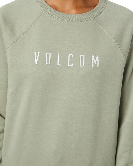 SEA GLASS WOMENS CLOTHING VOLCOM JUMPERS - B4612075SEA
