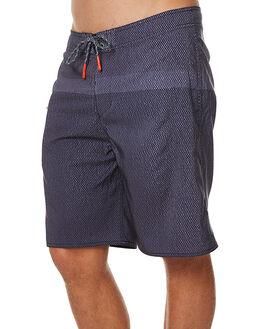 BLACK STRIPE MENS CLOTHING DEPACTUS BOARDSHORTS - AM010004BLKST