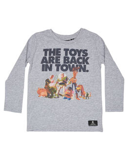 GREY MARLE KIDS BOYS ROCK YOUR KID TOPS - TBT1928-TTGRYM