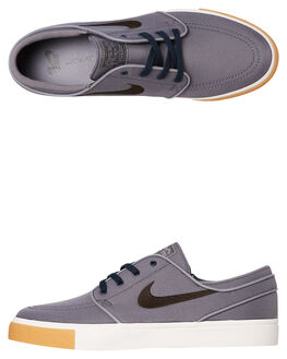GUNSMOKE BROWN MENS FOOTWEAR NIKE SKATE SHOES - 615957-025
