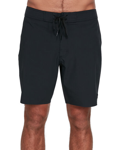 BLACK MENS CLOTHING RVCA BOARDSHORTS - RV-R305411-BLK