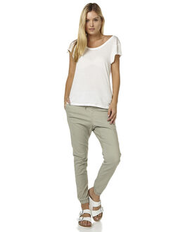 MOSS GREY WOMENS CLOTHING RUSTY PANTS - PAL0868MGS