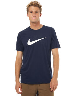 OBSIDIAN MENS CLOTHING NIKE TEES - 875339451