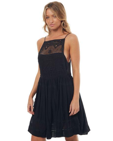 BLACK WOMENS CLOTHING ALL ABOUT EVE DRESSES - 6401064BLK