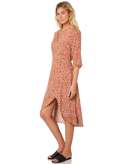 WILD SPIRIT PRINT WOMENS CLOTHING SASS DRESSES - 13514DWSSWLD