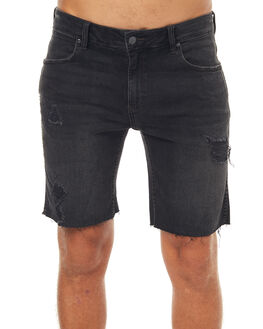 MOFFS BLACK MENS CLOTHING WRANGLER SHORTS - W-901122-DL0MOFBK