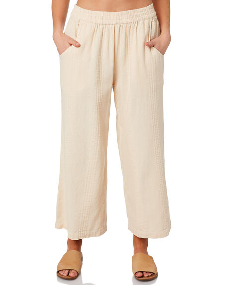 NATURAL WOMENS CLOTHING RIP CURL PANTS - GPAET10031
