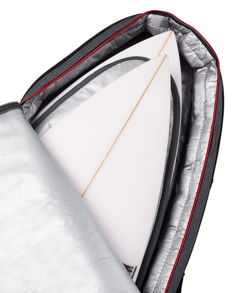 BLACK RED BOARDSPORTS SURF OCEAN AND EARTH BOARDCOVERS - SCSB04BLKRE