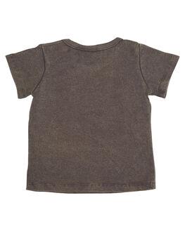 GREY WASH KIDS BABY ROCK YOUR BABY CLOTHING - BBT1814-SGGRYW