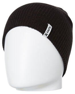 BLACK MENS ACCESSORIES HURLEY HEADWEAR - AQ3804010
