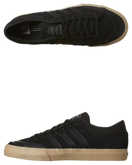 BLACK GUM MENS FOOTWEAR ADIDAS ORIGINALS SKATE SHOES - B27329BKGU