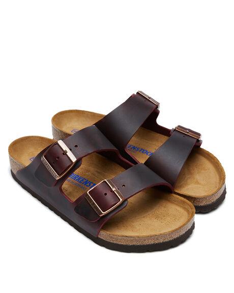 OILED ZINFANDEL WOMENS FOOTWEAR BIRKENSTOCK FASHION SANDALS - 1014264OZIN