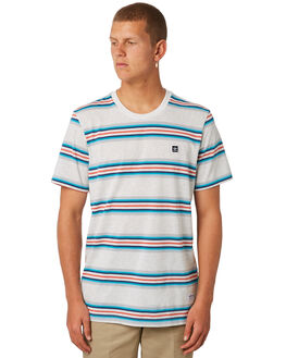 PALE MELANGE MENS CLOTHING ADIDAS TEES - CF3138PMLNG