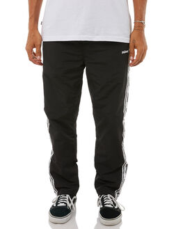 BLACK MENS CLOTHING STUSSY PANTS - ST085614BLK