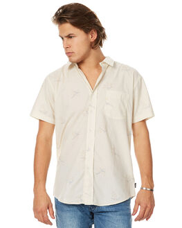 BONE MENS CLOTHING BRIXTON SHIRTS - 01069BONE