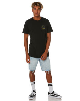 BLACK MENS CLOTHING SWELL TEES - S5203004BLACK