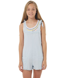 BLUE KIDS GIRLS EVES SISTER PLAYSUITS + OVERALLS - 9900066BLU