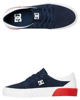 DC NAVY KIDS BOYS DC SHOES SNEAKERS - ADBS300138DNW