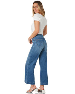 PRARIE BLUES ORGANIC WOMENS CLOTHING ROLLAS JEANS - 13505-5373