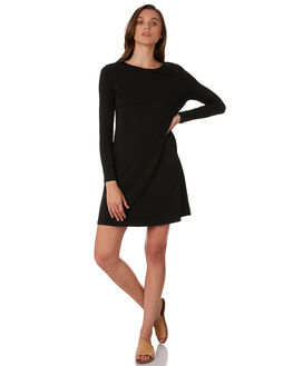 BLACK WOMENS CLOTHING BETTY BASICS DRESSES - BB257H19BLK