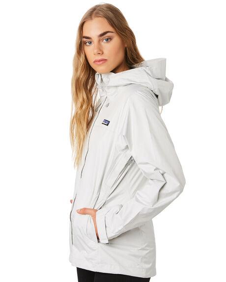 BIRCH WHITE WOMENS CLOTHING PATAGONIA JACKETS - 83807BCW