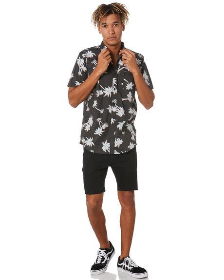 BLACK MENS CLOTHING RIP CURL SHIRTS - CSHEF90090