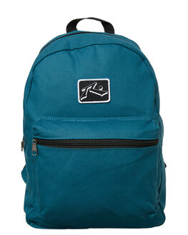 WASHED SEA GREEN MENS ACCESSORIES RUSTY BAGS - BFM0264WSG