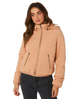 TAN WOMENS CLOTHING ALL ABOUT EVE JACKETS - 6414002GLD