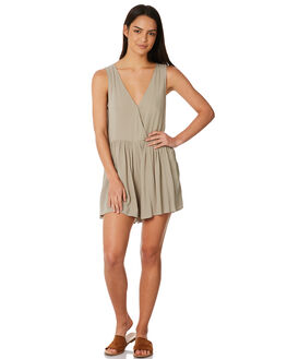 SAGE GREEN WOMENS CLOTHING ELWOOD PLAYSUITS + OVERALLS - W84728SAGE