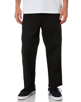 BLACK MENS CLOTHING CARHARTT PANTS - I024924-89BLK