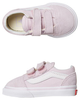 LAVENDER FOG KIDS TODDLER GIRLS VANS FOOTWEAR - VNA344KUJMLFOG
