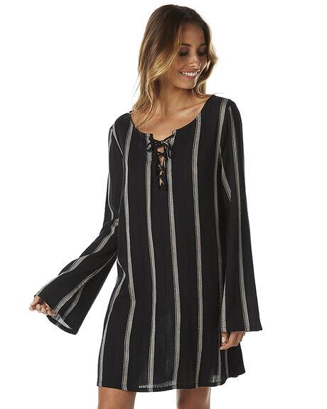 BLACK WOMENS CLOTHING BILLABONG DRESSES - 6575483BLK