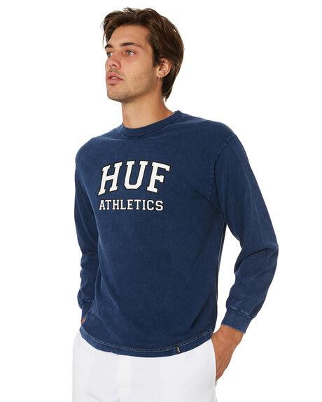 INSIGNIA BLUE MENS CLOTHING HUF TEES - TS00561-IABLU