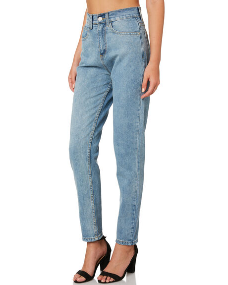 BLUE WASH WOMENS CLOTHING THE HIDDEN WAY JEANS - H8189196BLUWS