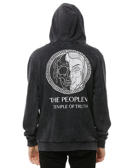 BLACK ACID MENS CLOTHING THE PEOPLE VS JUMPERS - AW18029BACID