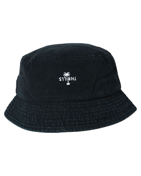 BLACK MENS ACCESSORIES THRILLS HEADWEAR - TS20-516BBLK