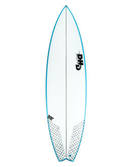 WHITE BLUE SURF SURFBOARDS DHD PERFORMANCE - DHMFJBAYWHBLU