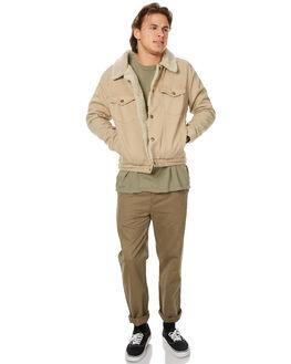 KHAKI MENS CLOTHING ROLLAS JACKETS - 20092300
