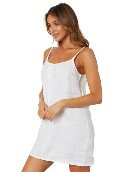 WHITE WOMENS CLOTHING NUDE LUCY DRESSES - NU23973WHT