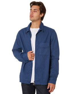 ODEN BLUE MENS CLOTHING NUDIE JEANS CO JACKETS - 140593C28