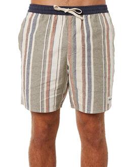 OLIVE MENS CLOTHING RHYTHM SHORTS - JUL18M-JM03OLI