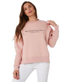 BLUSH WOMENS CLOTHING RPM JUMPERS - 9WWT05B2BLUS