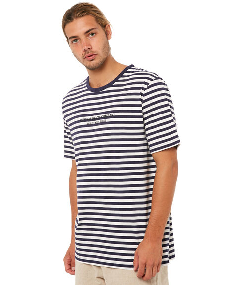 NAVY MENS CLOTHING RHYTHM TEES - JAN18M-CT04NAVY